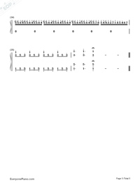 Nocturne in E-flat major Op. 9 No. 2-Numbered-Musical-Notation-Preview-5