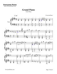 Grand Piano Nicki Minaj Free Piano Sheet Music Piano Chords