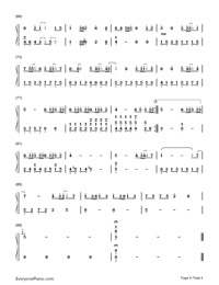 If Only-Simple Version-JJ Lin Numbered Musical Notation Preview 4