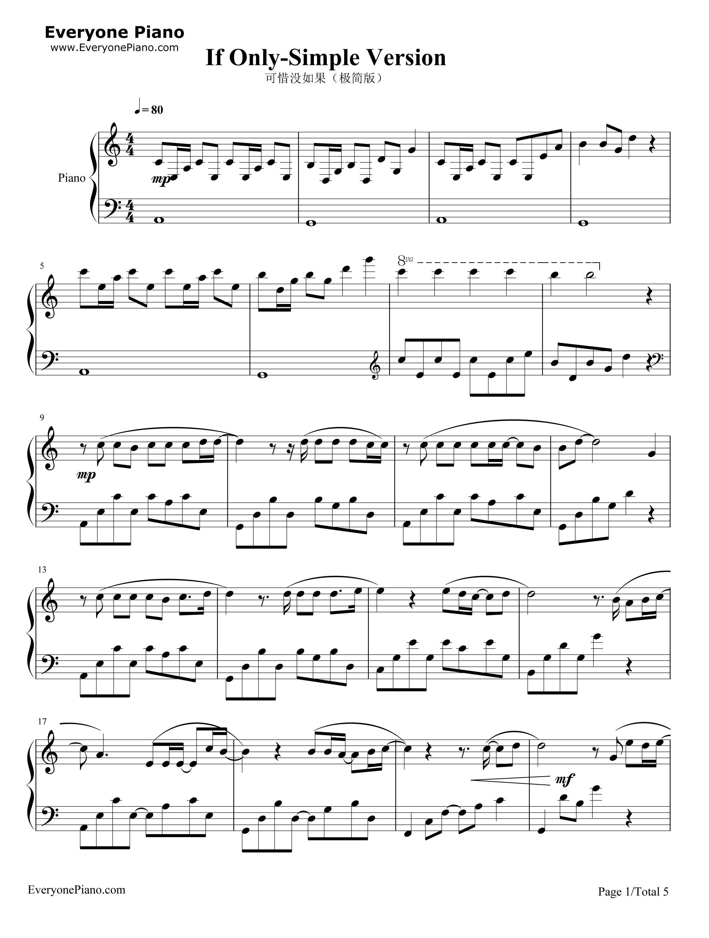 林俊傑 JJ Lin - 不為誰而作的歌 Twilight (Piano Cover 鋼琴版)