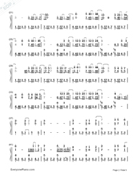 If Only-JJ Lin-Numbered-Musical-Notation-Preview-2