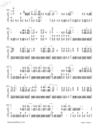 If Only-JJ Lin-Numbered-Musical-Notation-Preview-3