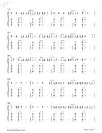 Clean-Taylor Swift-Numbered-Musical-Notation-Preview-2