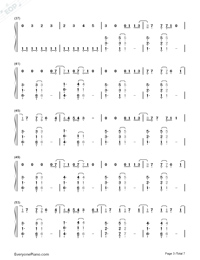 Clean-Taylor Swift-Numbered-Musical-Notation-Preview-3