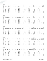 Clean-Taylor Swift-Numbered-Musical-Notation-Preview-4