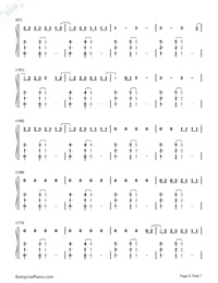Clean-Taylor Swift-Numbered-Musical-Notation-Preview-6