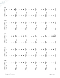 Love Me Like You Do-Fifty Shades of Grey Theme Numbered Musical Notation Preview 5