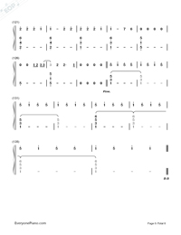 Love Me Like You Do-Fifty Shades of Grey Theme-Numbered-Musical-Notation-Preview-6