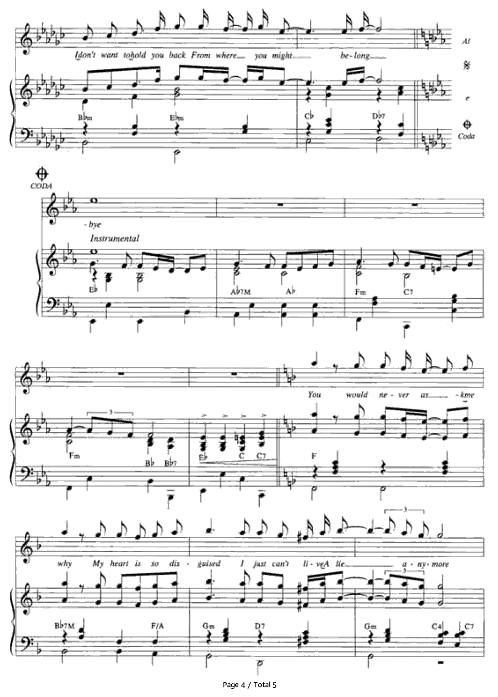 Goodbye air supply free piano sheet music piano chords goodbye air supply stave preview 4 hexwebz Image collections