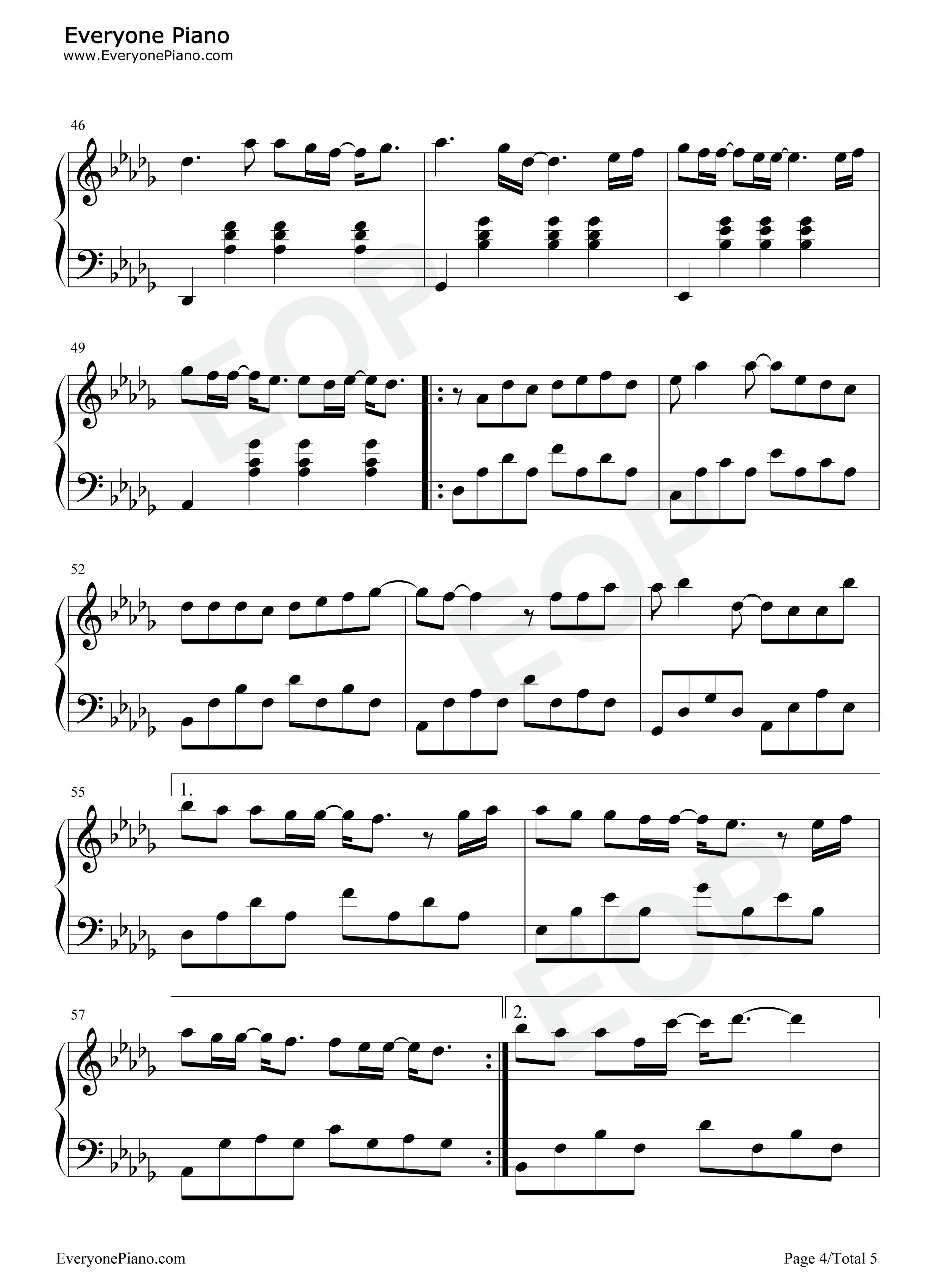 jay chou sheet music pdf