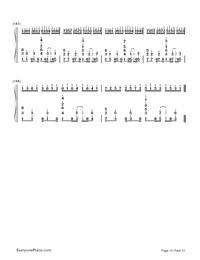 Kusari no Shoujo-Hatsune Miku-Numbered-Musical-Notation-Preview-10