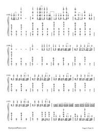 Kusari no Shoujo-Hatsune Miku-Numbered-Musical-Notation-Preview-9