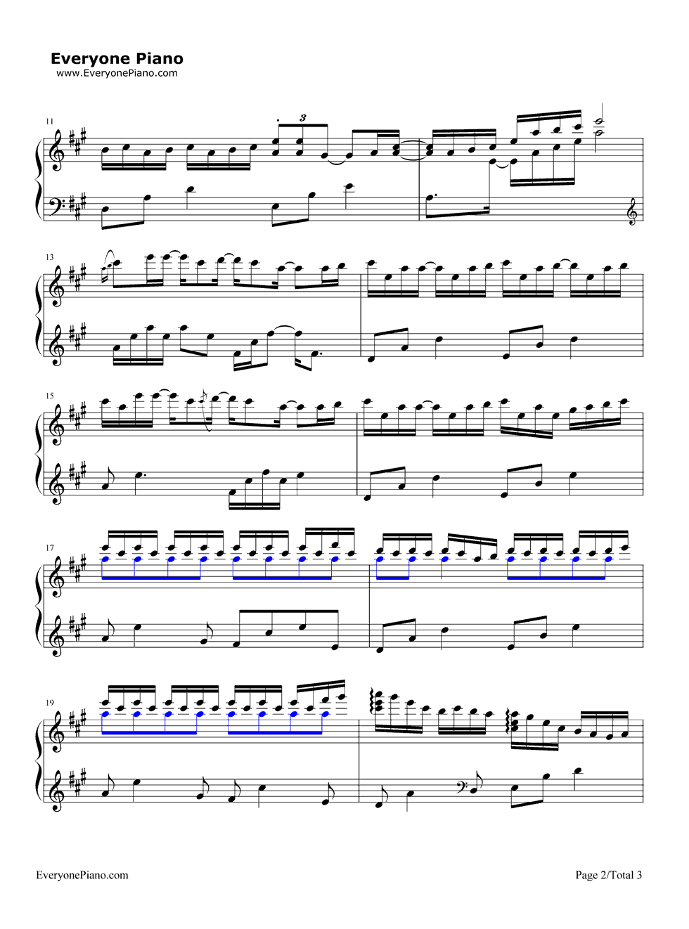 Our song taylor swift stave preview 2 free piano sheet music listen now print sheet our song taylor swift stave preview 2 hexwebz Choice Image
