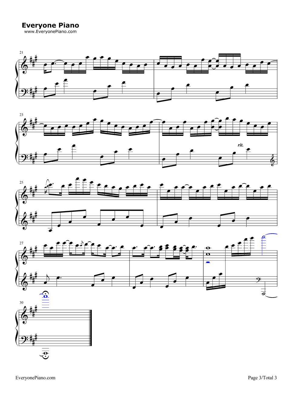Our song taylor swift stave preview 3 free piano sheet music listen now print sheet our song taylor swift stave preview 3 hexwebz Choice Image