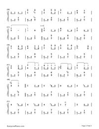 愛の挨拶-Salut d'amour-Edward Elgar両手略譜プレビュー2