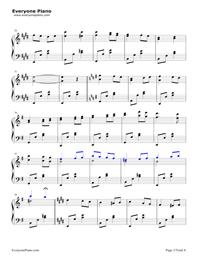 愛の挨拶-Salut d'amour-Edward Elgar五線譜プレビュー2