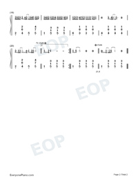 Originally-JJ Lin-Numbered-Musical-Notation-Preview-2