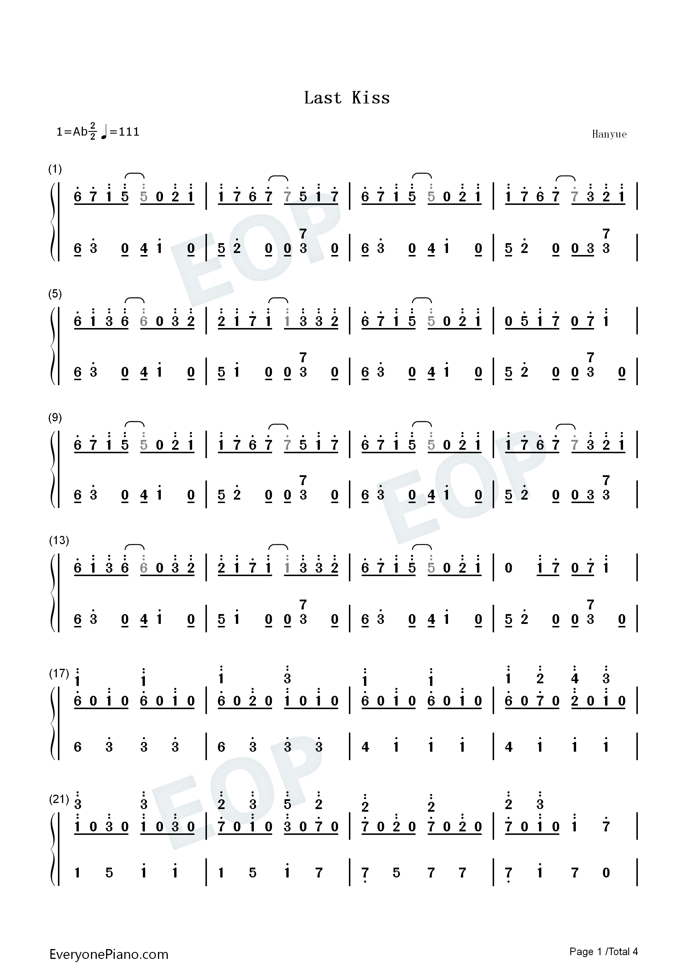 The Last Kiss Chords The Last Kiss Heng Pitu Guitar Chords