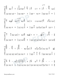 Yumegatari-Dream-telling-AIR OST-Numbered-Musical-Notation-Preview-2