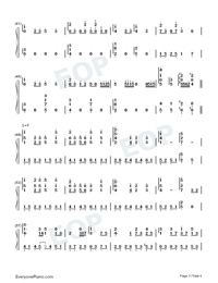 Yumegatari-Dream-telling-AIR OST-Numbered-Musical-Notation-Preview-3