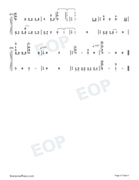 Yumegatari-Dream-telling-AIR OST-Numbered-Musical-Notation-Preview-4
