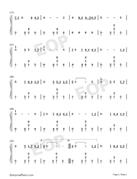 People from Our Village-Peng Liyuan-Numbered-Musical-Notation-Preview-2
