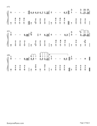 Let Me See You Again-Guo Feng-Numbered-Musical-Notation-Preview-2