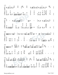 Your Love-Wang Leehom-Numbered-Musical-Notation-Preview-2