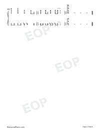 Your Love-Wang Leehom-Numbered-Musical-Notation-Preview-4