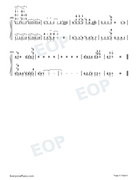 Happy Birthday to You-Jazz Version-Numbered-Musical-Notation-Preview-4