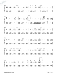 My Neighbor Totoro-Numbered-Musical-Notation-Preview-2