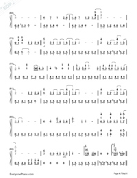 My Neighbor Totoro-Numbered-Musical-Notation-Preview-4