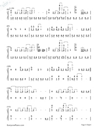 My Neighbor Totoro-Numbered-Musical-Notation-Preview-5