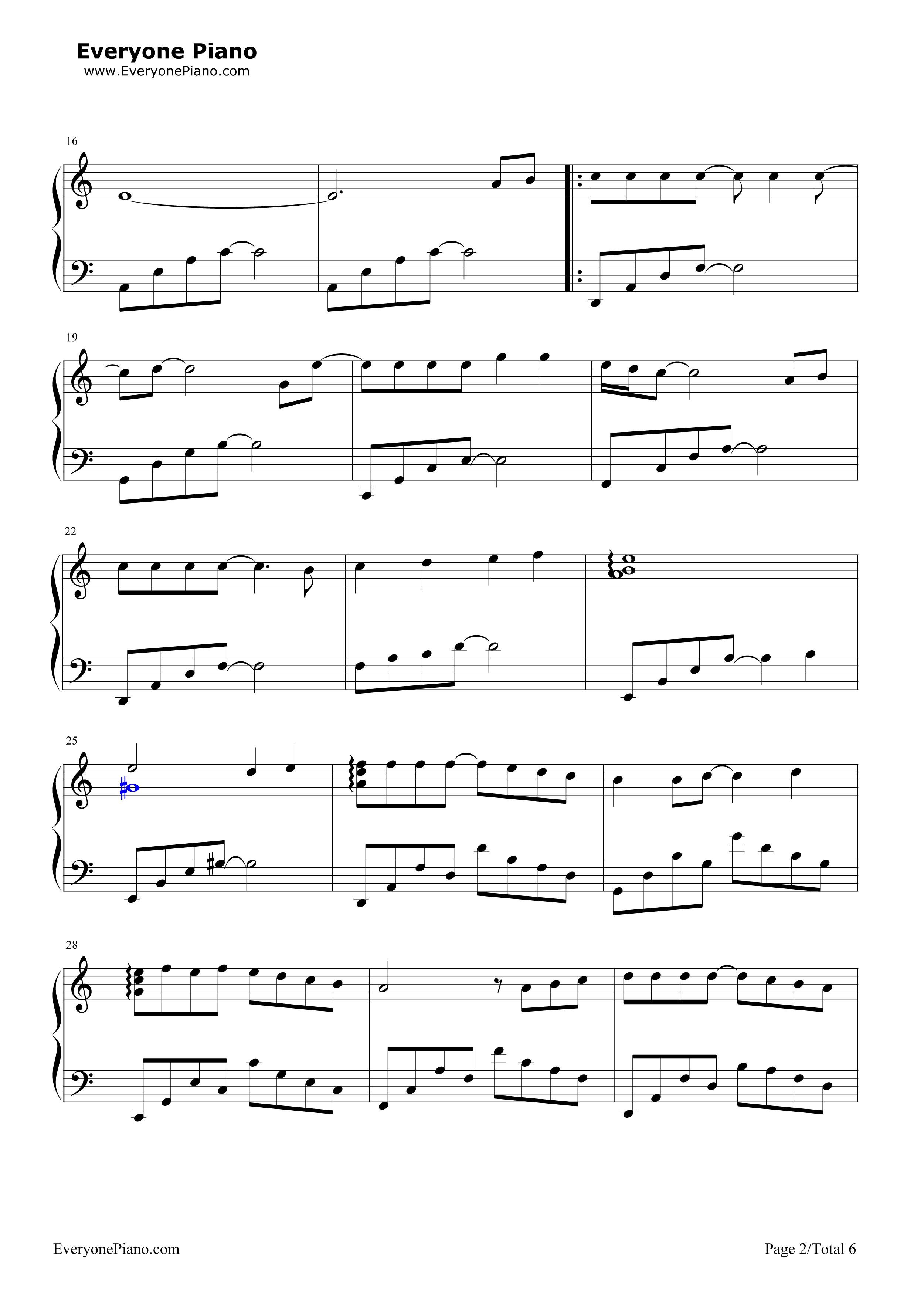 Sheet music   mypiano5 blog.