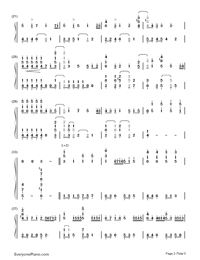 Star Fantasia-V.K-Numbered-Musical-Notation-Preview-2