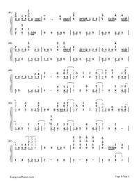 Star Fantasia-V.K-Numbered-Musical-Notation-Preview-3