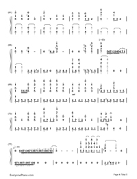 Star Fantasia-V.K-Numbered-Musical-Notation-Preview-4