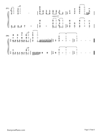 Star Fantasia-V.K-Numbered-Musical-Notation-Preview-5