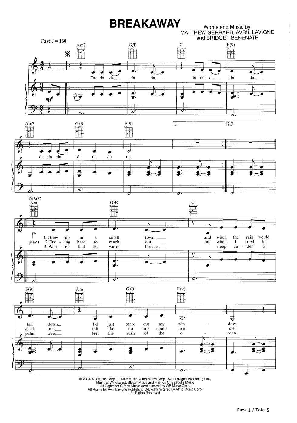 KELLY CLARKSON chords | E-Chords.com