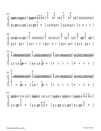 Canon-Variation Version-My Sassy Girl OST-Numbered-Musical-Notation-Preview-2