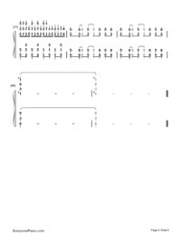 Red Zone-beatmania IIDX OST-Numbered-Musical-Notation-Preview-6