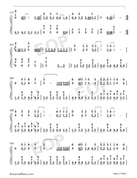 Can You Feel the Love Tonight-The Lion King OST-Numbered-Musical-Notation-Preview-2