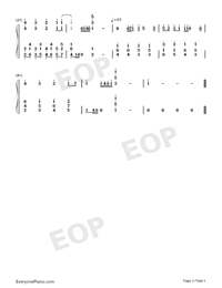 Can You Feel the Love Tonight-The Lion King OST-Numbered-Musical-Notation-Preview-3