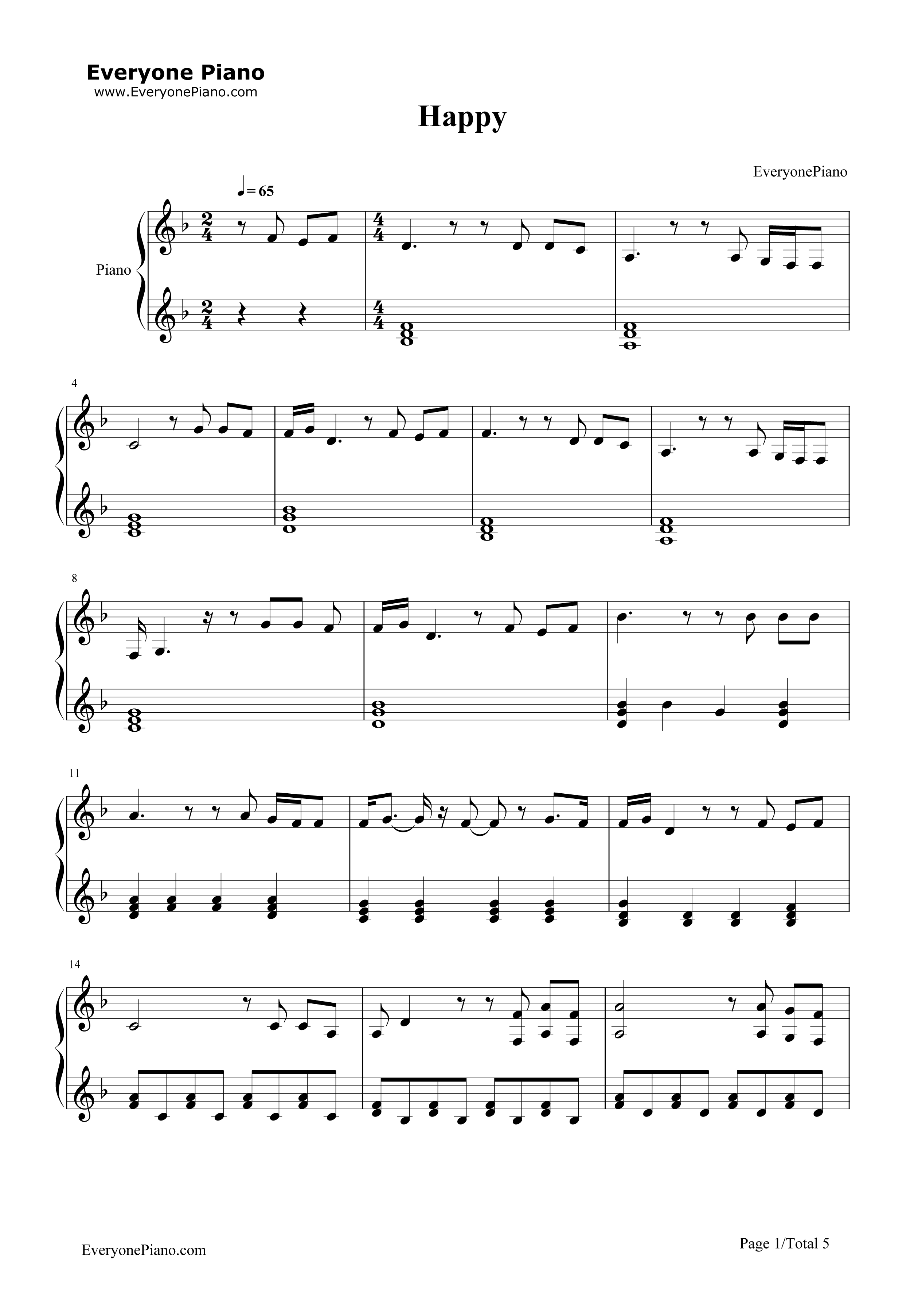 Happy marina and the diamonds free piano sheet music piano chords happy marina and the diamonds stave preview 1 hexwebz Gallery