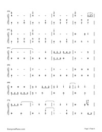Watashi no Uso-Your Lie in April OST-Numbered-Musical-Notation-Preview-3