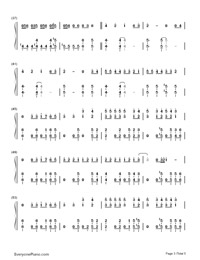 Makes Me Wonder-Maroon 5-Numbered-Musical-Notation-Preview-3