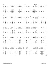 Makes Me Wonder-Maroon 5-Numbered-Musical-Notation-Preview-4