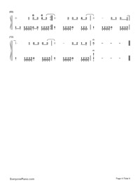 Sunday Morning-Maroon 5-Numbered-Musical-Notation-Preview-4
