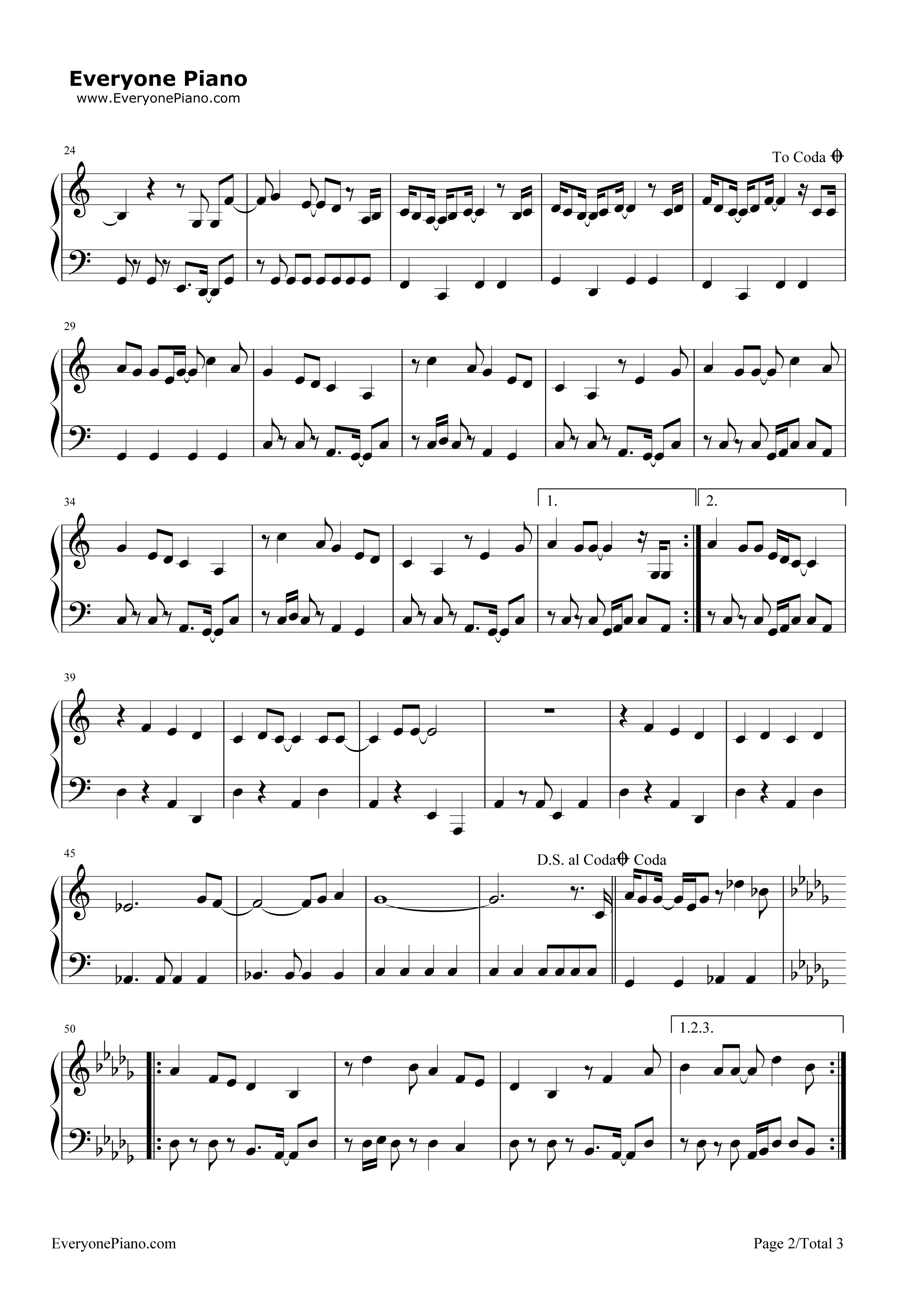 Happy birthday stevie wonder stave preview 2 free piano sheet listen now print sheet happy birthday stevie wonder stave preview 2 hexwebz Gallery