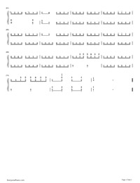 Sonata in C major, K. 545 3rd Movement-Numbered-Musical-Notation-Preview-3